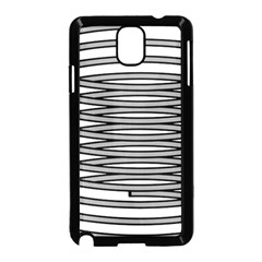 Circular Iron Samsung Galaxy Note 3 Neo Hardshell Case (black) by Mariart