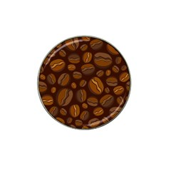 Coffee Beans Hat Clip Ball Marker (10 Pack) by Mariart