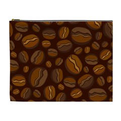 Coffee Beans Cosmetic Bag (xl) by Mariart