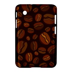 Coffee Beans Samsung Galaxy Tab 2 (7 ) P3100 Hardshell Case  by Mariart
