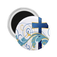 Easter Clip Art Free Religious 2 25  Magnets