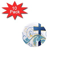 Easter Clip Art Free Religious 1  Mini Magnet (10 Pack)  by Mariart