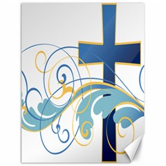 Easter Clip Art Free Religious Canvas 18  X 24   by Mariart