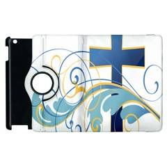 Easter Clip Art Free Religious Apple Ipad 3/4 Flip 360 Case by Mariart