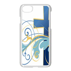 Easter Clip Art Free Religious Apple Iphone 7 Seamless Case (white) by Mariart