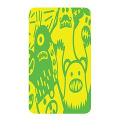 Easter Monster Sinister Happy Green Yellow Magic Rock Memory Card Reader by Mariart