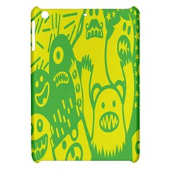 Easter Monster Sinister Happy Green Yellow Magic Rock Apple Ipad Mini Hardshell Case by Mariart