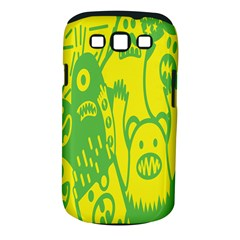 Easter Monster Sinister Happy Green Yellow Magic Rock Samsung Galaxy S Iii Classic Hardshell Case (pc+silicone) by Mariart
