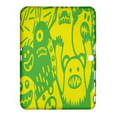 Easter Monster Sinister Happy Green Yellow Magic Rock Samsung Galaxy Tab 4 (10 1 ) Hardshell Case  by Mariart