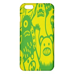 Easter Monster Sinister Happy Green Yellow Magic Rock Iphone 6 Plus/6s Plus Tpu Case by Mariart