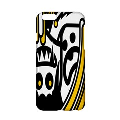 Easter Monster Sinister Happy Magic Rock Mask Face Polka Yellow Apple Iphone 6/6s Hardshell Case