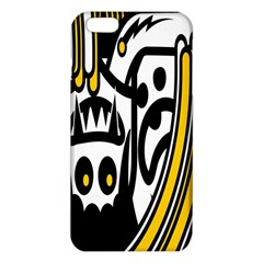 Easter Monster Sinister Happy Magic Rock Mask Face Polka Yellow Iphone 6 Plus/6s Plus Tpu Case by Mariart