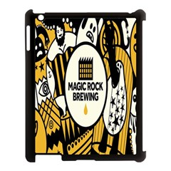 Easter Monster Sinister Happy Magic Rock Mask Face Yellow Magic Rock Apple Ipad 3/4 Case (black) by Mariart