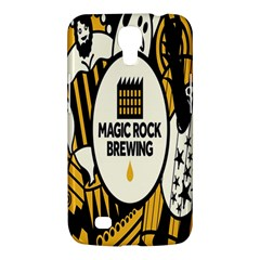 Easter Monster Sinister Happy Magic Rock Mask Face Yellow Magic Rock Samsung Galaxy Mega 6 3  I9200 Hardshell Case by Mariart