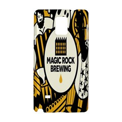 Easter Monster Sinister Happy Magic Rock Mask Face Yellow Magic Rock Samsung Galaxy Note 4 Hardshell Case by Mariart