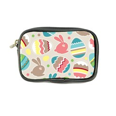 Easter Rabbit Bunny Rainbow Coin Purse by Mariart