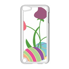 Eggs Three Tulips Flower Floral Rainbow Apple Ipod Touch 5 Case (white) by Mariart