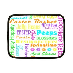 Easter Subway Blossoms Color Rainbow Chocolate Netbook Case (small)  by Mariart