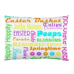 Easter Subway Blossoms Color Rainbow Chocolate Pillow Case by Mariart