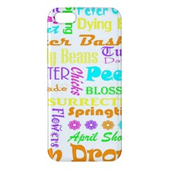 Easter Subway Blossoms Color Rainbow Chocolate Iphone 5s/ Se Premium Hardshell Case by Mariart