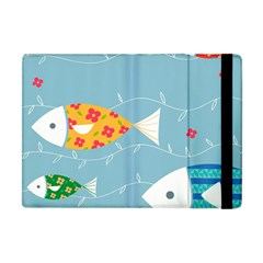 Fish Cute Swim Blue Sea Apple Ipad Mini Flip Case