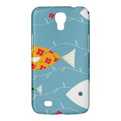Fish Cute Swim Blue Sea Samsung Galaxy Mega 6 3  I9200 Hardshell Case