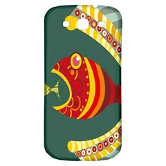 Fish Predator Sea Water Beach Monster Samsung Galaxy S3 S Iii Classic Hardshell Back Case by Mariart