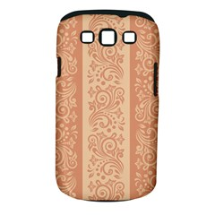 Flower Floral Leaf Frame Star Brown Samsung Galaxy S Iii Classic Hardshell Case (pc+silicone) by Mariart