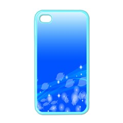 Fish Swim Blue Water Swea Beach Star Wave Chevron Apple Iphone 4 Case (color) by Mariart