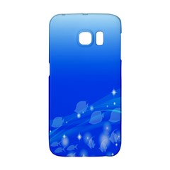 Fish Swim Blue Water Swea Beach Star Wave Chevron Galaxy S6 Edge by Mariart
