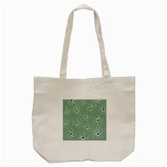 Flower Floral Sakura Sunflower Rose Blue Tote Bag (cream) by Mariart