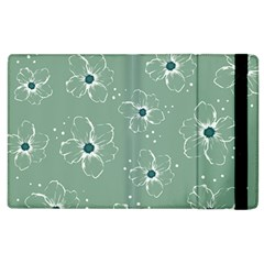 Flower Floral Sakura Sunflower Rose Blue Apple Ipad 3/4 Flip Case by Mariart