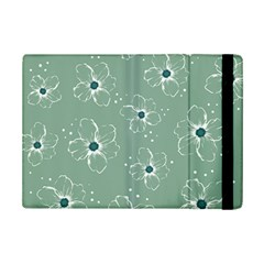 Flower Floral Sakura Sunflower Rose Blue Ipad Mini 2 Flip Cases by Mariart