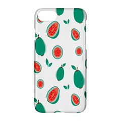 Fruit Green Red Guavas Leaf Apple Iphone 7 Hardshell Case by Mariart