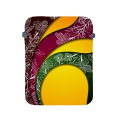 Flower Floral Leaf Star Sunflower Green Red Yellow Brown Sexxy Apple Ipad 2/3/4 Protective Soft Cases by Mariart