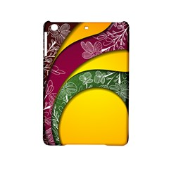 Flower Floral Leaf Star Sunflower Green Red Yellow Brown Sexxy Ipad Mini 2 Hardshell Cases by Mariart