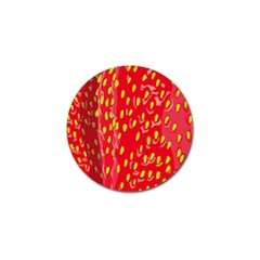 Fruit Seed Strawberries Red Yellow Frees Golf Ball Marker (4 Pack) by Mariart