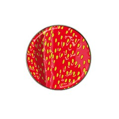 Fruit Seed Strawberries Red Yellow Frees Hat Clip Ball Marker (10 Pack) by Mariart