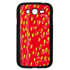 Fruit Seed Strawberries Red Yellow Frees Samsung Galaxy Grand Duos I9082 Case (black) by Mariart