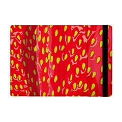 Fruit Seed Strawberries Red Yellow Frees Ipad Mini 2 Flip Cases by Mariart