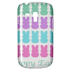 Happy Easter Rabbit Color Green Purple Blue Pink Galaxy S3 Mini by Mariart