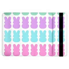 Happy Easter Rabbit Color Green Purple Blue Pink Ipad Air Flip by Mariart