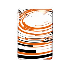 Hole Black Orange Arrow Ipad Mini 2 Hardshell Cases by Mariart