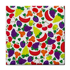 Fruite Watermelon Tile Coasters by Mariart