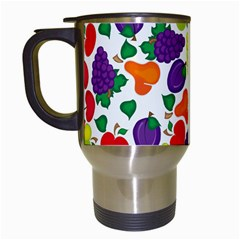 Fruite Watermelon Travel Mugs (white) by Mariart