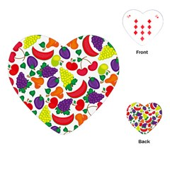 Fruite Watermelon Playing Cards (heart)  by Mariart