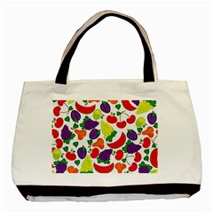 Fruite Watermelon Basic Tote Bag (two Sides) by Mariart