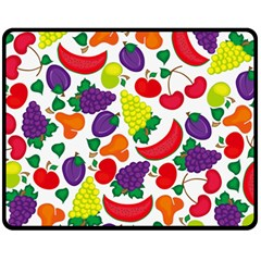 Fruite Watermelon Fleece Blanket (medium)  by Mariart