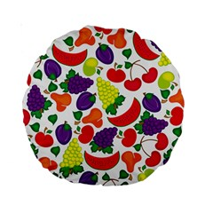 Fruite Watermelon Standard 15  Premium Round Cushions by Mariart