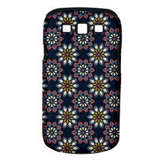 Floral Flower Star Blue Samsung Galaxy S Iii Classic Hardshell Case (pc+silicone) by Mariart